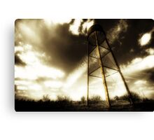 Water Tower Justin Texas Canvas Print