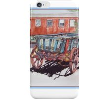 As Time Goes by in Old Tailem Town Watercolour Painting iPhone Case/Skin