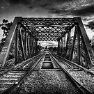 Steel Lines by Scott Carr