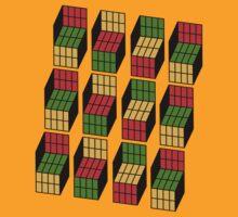 Geek's Cubes by jawniebaby