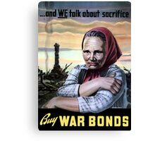 Buy War Bonds -- World War II Canvas Print