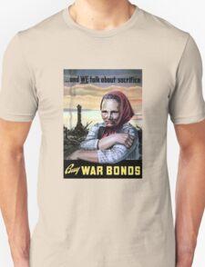 Buy War Bonds -- World War II Unisex T-Shirt