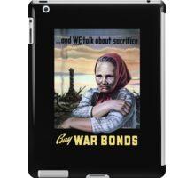 Buy War Bonds -- World War II iPad Case/Skin