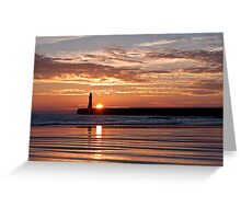 Roker Rising Greeting Card