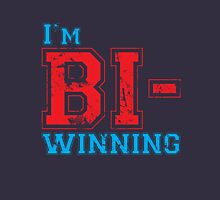 Bi-Winning red/blue Unisex T-Shirt