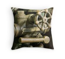 old time engineering Throw Pillow