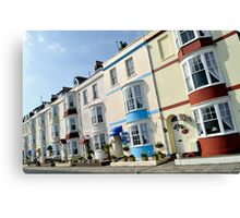 Weymouth - Seafront Hotels Canvas Print