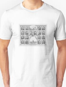 Presidents Of The United States 1776 - 1876  T-Shirt