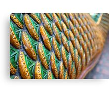 Dragon scales Canvas Print
