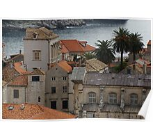 Dubrovnik from the wall Poster