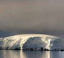 Wilemina Bay Antarctica by Timothy Clark