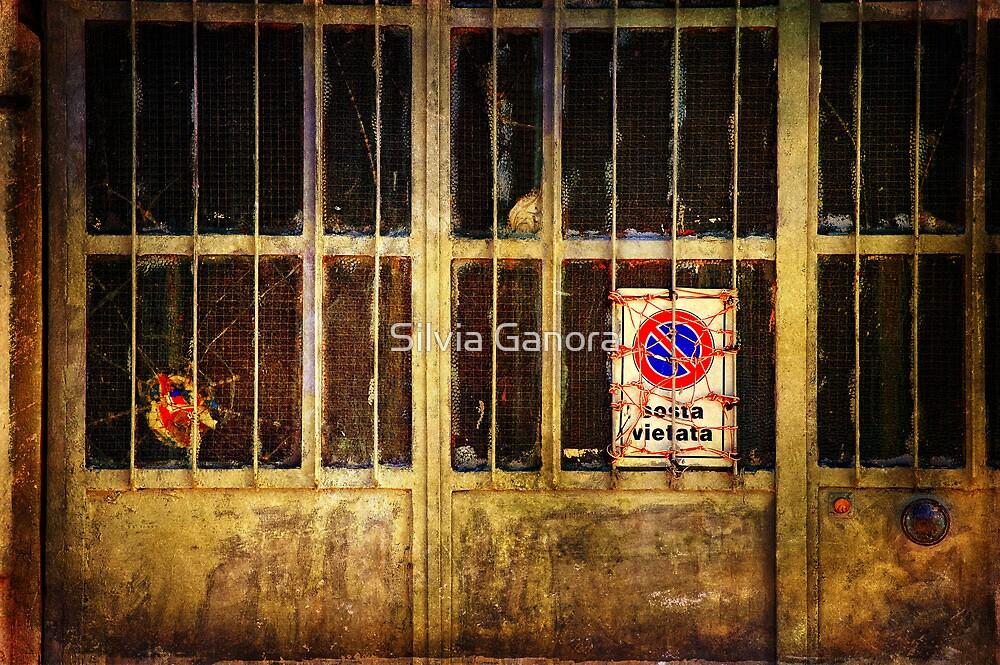 Sosta vietata :: No parking here by Silvia Ganora