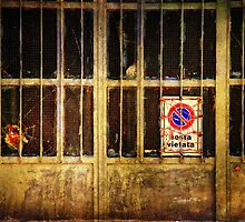 Sosta vietata :: No parking here by Silvia Ganora
