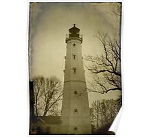 Milwaukee's North Point Lighthouse ©  Poster