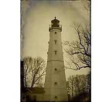 Milwaukee's North Point Lighthouse ©  Photographic Print