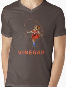 Skipping Girl  Mens V-Neck T-Shirt