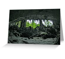 TRADERS CAVE Greeting Card
