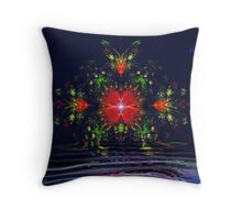 Earthly Delights Throw Pillow
