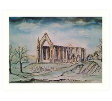 'Springtime - Bolton Abbey' Art Print