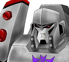 Animated Megatron by Caroline Smalley