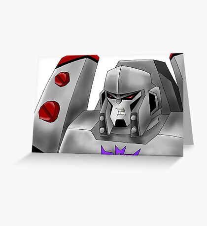 Animated Megatron Greeting Card