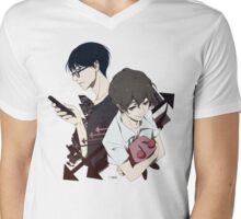 Connect Mens V-Neck T-Shirt
