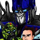 Prime, Ratchet And Sam by Qutone