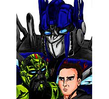 Prime, Ratchet And Sam Photographic Print