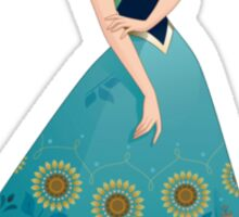 Frozen's Anna Sticker