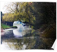 Along the Towpath Poster