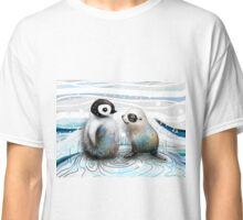 Penguin Chick and Baby Seal Classic T-Shirt
