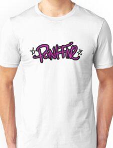 Girl point five black outline Unisex T-Shirt