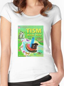 TISM Boat Hire Women's Fitted Scoop T-Shirt