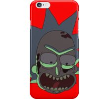 Rick and Morty: Axe Rick Head iPhone Case/Skin