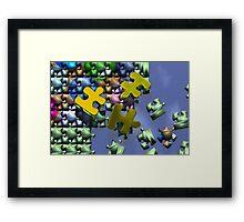 Jigsaw-2 Framed Print