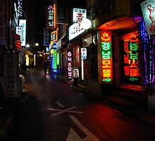Back Alley - Seoul, South Korea by adodsonphoto