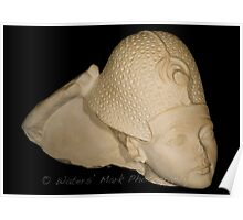 Egyptian Bust Reproduction Poster