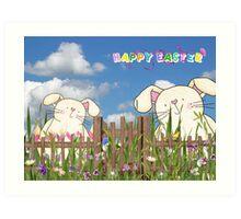 Easter Garden Art Print