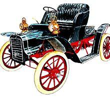 1910 Cadillac by Ob-Art