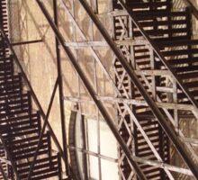 Urban staircase Sticker