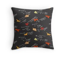 Physics of Flight Throw Pillow