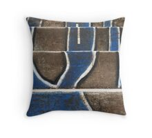 Stair Abstract Throw Pillow