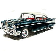 1957 Chevy by Ob-Art