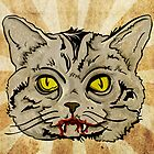 Vampire Cat by wesleykhall