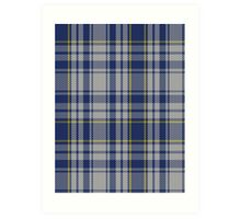 00675 The Spirit of Yorkshire District Tartan  Art Print
