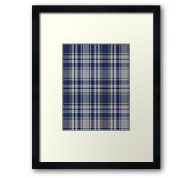 00675 The Spirit of Yorkshire District Tartan  Framed Print