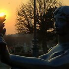 Paris - The lady and the torch by Jean-Luc Rollier
