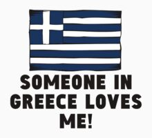 Someone In Greece Loves Me! Kids Clothes