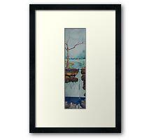 Inter-Layer Drip Framed Print