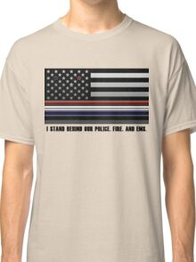 Police Fire EMS Tribute Classic T-Shirt